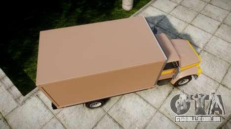 Ford L8000 para GTA 4 vista direita