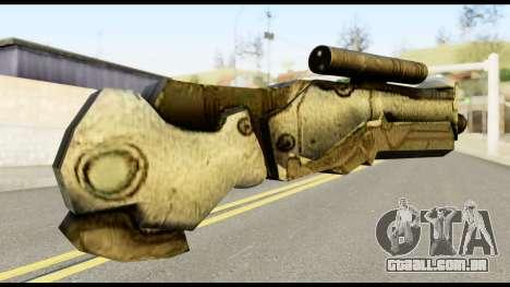 Plasmagun from Metal Gear Solid para GTA San Andreas segunda tela