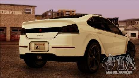 Cheval Surge 1.1 (HQLM) para GTA San Andreas esquerda vista
