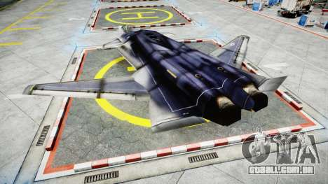 Lockheed F-121 Switchblade para GTA 4 esquerda vista