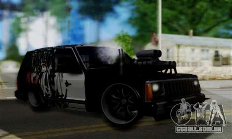 Jeep Mini-Truck para GTA San Andreas