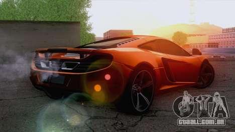 McLaren MP4-12C Gawai v1.5 para GTA San Andreas esquerda vista