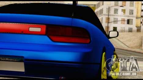 Nissan Silvia S13 Sileighty Drift Moster para GTA San Andreas vista interior