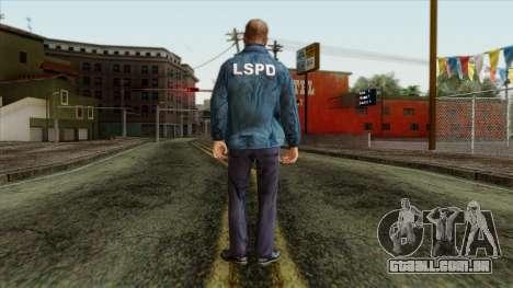 Police Skin 13 para GTA San Andreas segunda tela