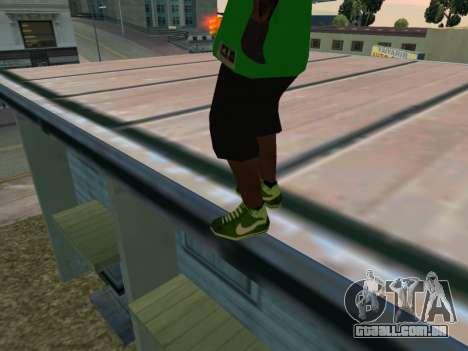 Fam3 Skin para GTA San Andreas terceira tela
