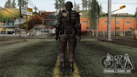 Resident Evil Skin 3 para GTA San Andreas segunda tela