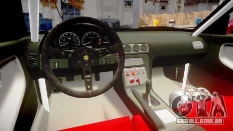Nissan 240SX Missile para GTA 4 vista interior