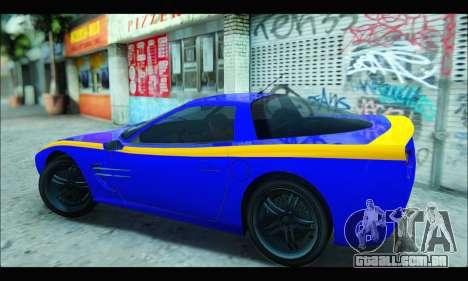 Coquette (GTA IV) para GTA San Andreas