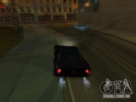 New Effects Pack White Version para GTA San Andreas quinto tela