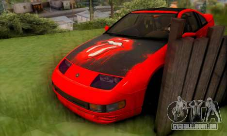 Nissan 300XZ The Rolling para GTA San Andreas vista superior