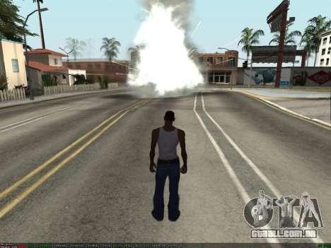 New Effects Pack White Version para GTA San Andreas terceira tela