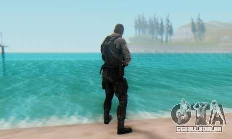 Sam Fisher - Paladin Outfit (Splinter Cell Black para GTA San Andreas terceira tela