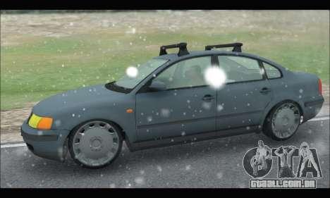 VW Passat para GTA San Andreas esquerda vista