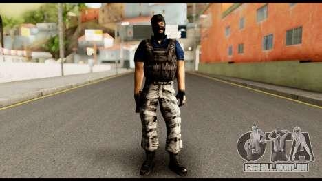 Counter Strike Skin 2 para GTA San Andreas