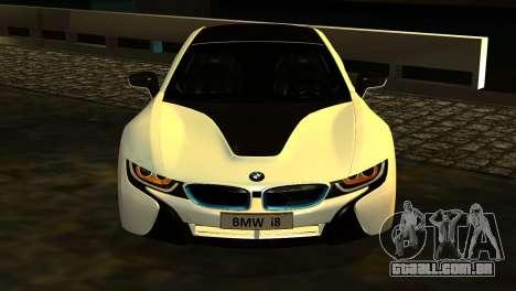 BMW I8 2013 para GTA San Andreas vista direita