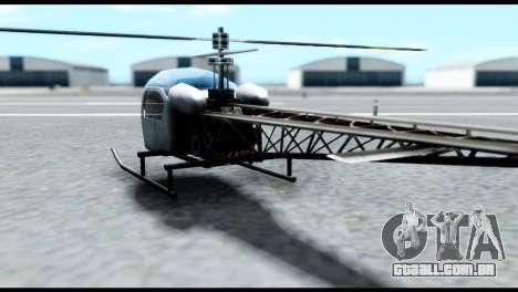 Beta Sparrow para GTA San Andreas esquerda vista