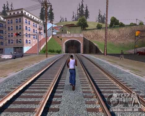 Colormod Dark Low para GTA San Andreas quinto tela