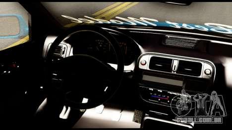 Honda Civic Hatcback O. B. Construção para GTA San Andreas traseira esquerda vista