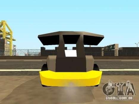 RC Bandit (Automotive) para GTA San Andreas vista interior