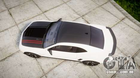 Chevrolet Camaro ZL1 2012 Redline para GTA 4 vista direita
