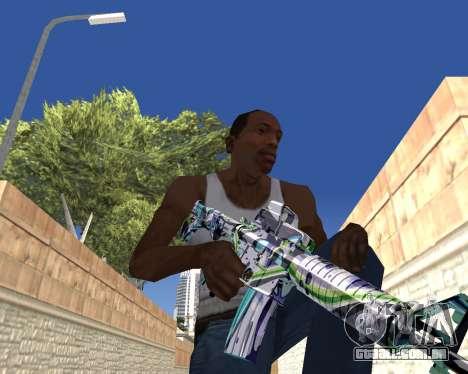 Graffity weapons para GTA San Andreas oitavo tela
