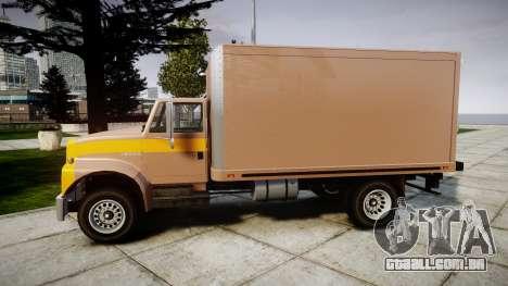 Ford L8000 para GTA 4 esquerda vista