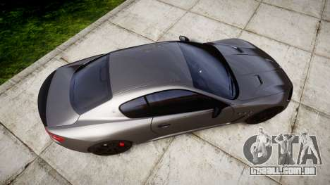 Maserati GranTurismo MC Stradale para GTA 4 vista direita