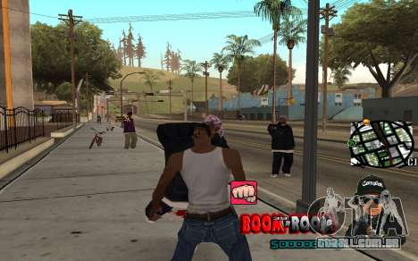 C-HUD Boom-Boom para GTA San Andreas terceira tela