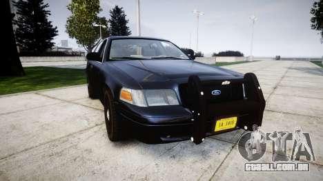 Ford Crown Victoria Police Interceptor [Retired] para GTA 4
