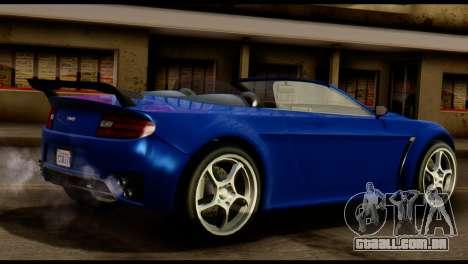 GTA 5 Dewbauchee Rapid GT Cabrio [HQLM] para GTA San Andreas vista direita