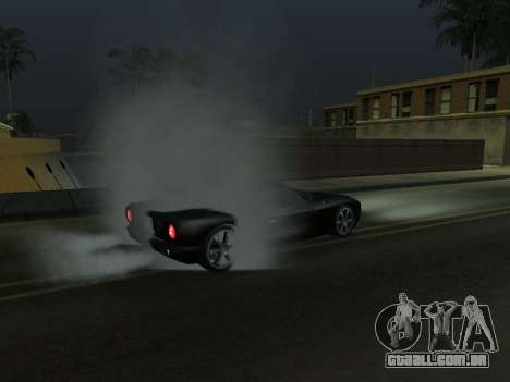 New Effects Pack White Version para GTA San Andreas por diante tela