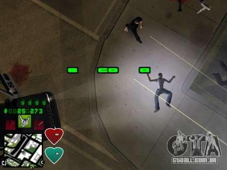 C-HUD Classic v4.1 para GTA San Andreas sexta tela