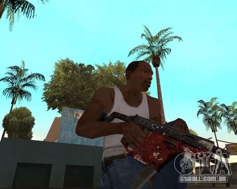 Ano novo weapon pack v2 para GTA San Andreas quinto tela