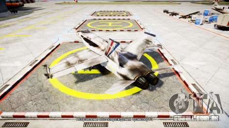 McDonnell Douglas FA-18 Hornet para GTA 4 esquerda vista