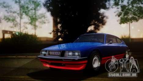 GTA 5 Lampadati Pigalle para GTA San Andreas