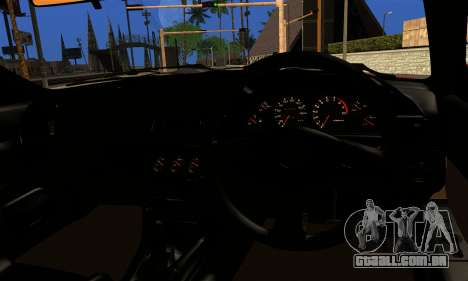Nissan Skyline Stance para GTA San Andreas traseira esquerda vista