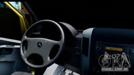 Mercedes-Benz Sprinter Coleção Rússia para GTA San Andreas vista direita