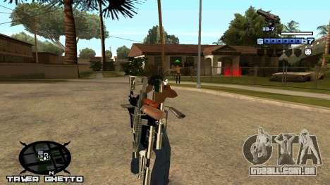 HUD Ghetto Tawer para GTA San Andreas segunda tela