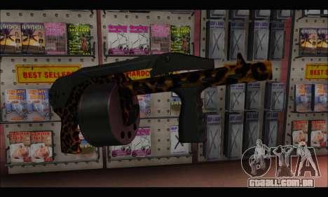Leopardo Combat para GTA San Andreas segunda tela