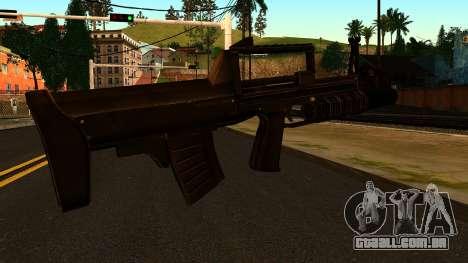 O BPA de Profundidade para GTA San Andreas segunda tela