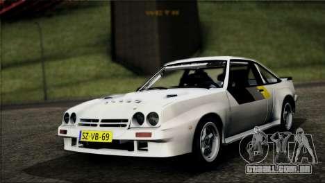 Opel Manta 400 para GTA San Andreas
