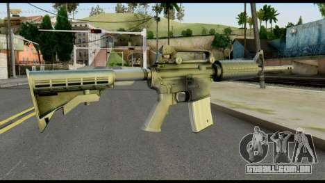 Colt Commando from Max Payne para GTA San Andreas