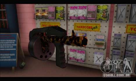 Leopardo Combat para GTA San Andreas terceira tela