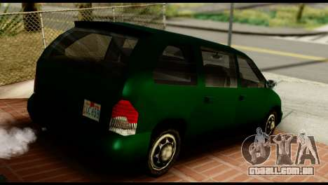 New Moobeam para GTA San Andreas esquerda vista