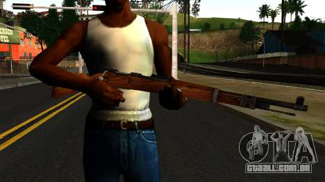 Mauser 98K from Wolfenstein 2009 para GTA San Andreas terceira tela