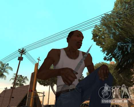 Ano novo weapon pack v2 para GTA San Andreas terceira tela