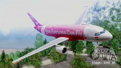 Air Asia Airbus A320 PK-AZF para GTA San Andreas