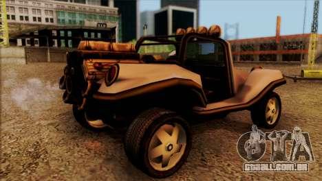New BF Injection para GTA San Andreas esquerda vista