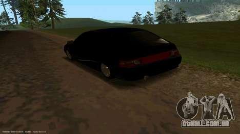 VAZ 21123 Bad Boy para GTA San Andreas traseira esquerda vista