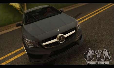 Mercedes Benz CLA 250 2014 para GTA San Andreas vista traseira